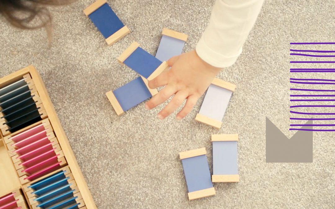 O que é que acontece numa sala de aula Montessori?